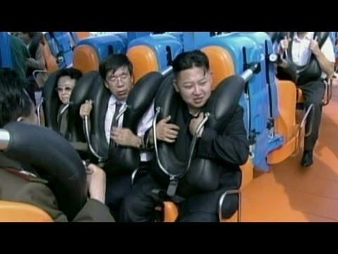 Kim Jong-un Riding A Roller Coaster