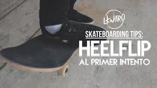 Cómo Hacer Heelflip al Primer Intento | How to First Try Heelflip