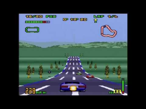 Top Gear 3000 Playthrough (Actual SNES Capture) - Part 1