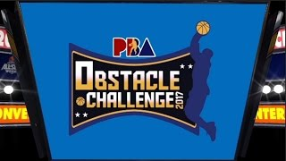 Obstacle Challenge  Full Video | PBA All-Star 2017