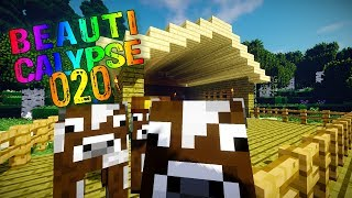Minecraft #020 | Das entflohene Rind | After Humans Let's Play Gameplay Deutsch thumbnail