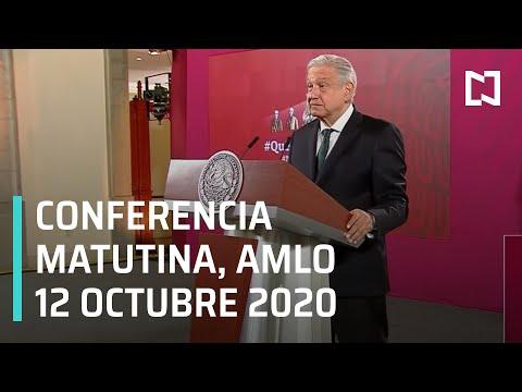 Conferencia matutina AMLO/ 12 de Octubre 2020