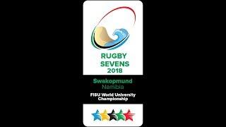 FISU Rugby 7's World University Championships Day 2 - 13 June 2018