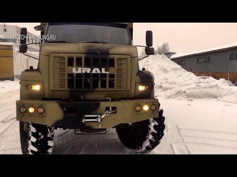 В России выпущен дом на колёсах — 2017 на базе грузовика «Урал»
