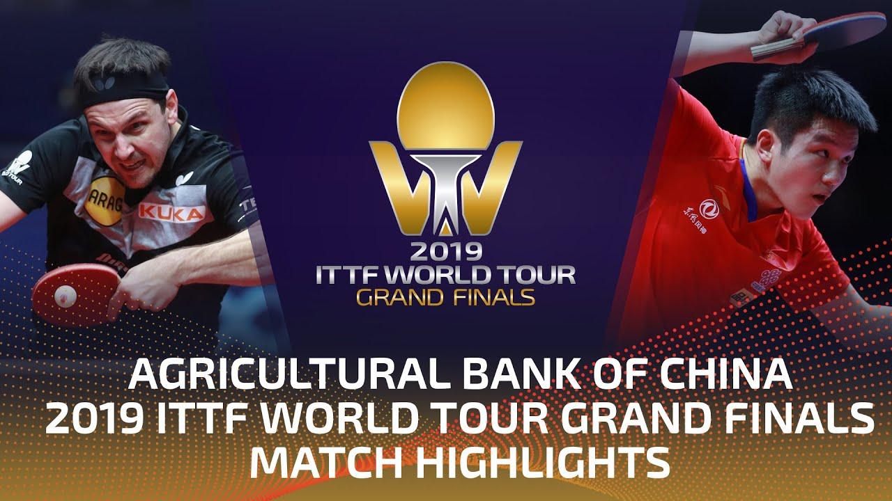 Download Timo Boll vs Fan Zhendong | 2019 ITTF World Tour Grand Finals Highlights (R16)