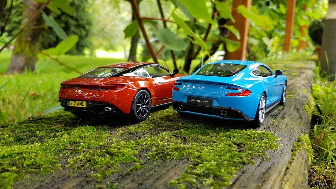 Aston Martin Db11 Vs Vanquish Youtube