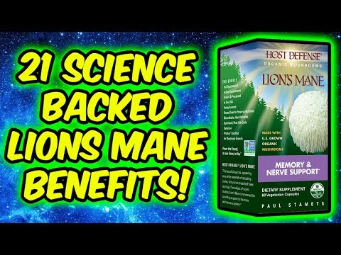 21 Science Backed Lions Mane Benefits! - Inhibits H Pylori, Mood Booster, Anti Cancer, Energiser..
