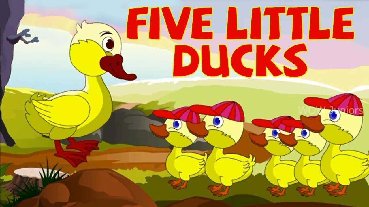 5 little ducks went out to play youtube