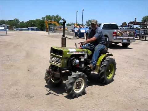 Yanmar YM155D MFWD Tractor For Sale Sold At Auction July 9