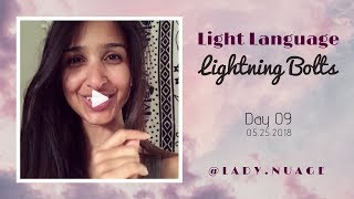 Light Language - Lady Nuage - Lightning Bolt #9