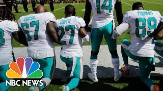 A Season Of Protests For The NFL | NBC News