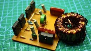 Увеличиваем мощность электронного трансформатора в 10 раз!