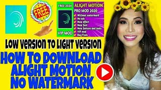 🔴 HOW TO DOWNLOAD ALIGHT MOTION - VIDEO & ANIMATION EDITOR WITHOUT WATERMARK screenshot 3