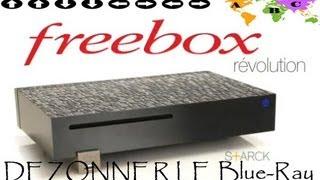 """[TUTO] Freebox Révolution """"Dézonner le lecteur Blue-Ray"""""""