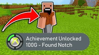 Minecraft : I Found SECRET ACHIVEMENT! (Ps3/Xbox360/PS4/XboxOne/WiiU)