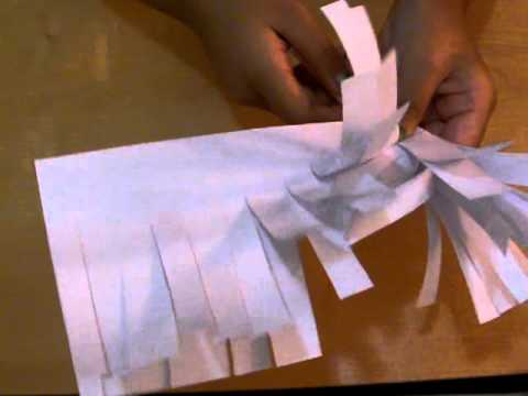 How To Make A Dust Bin And A Broom Stick Out Of Paper Youtube