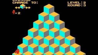 Q-bert - Q-bert (NES / Nintendo) - 47,840 pts - User video