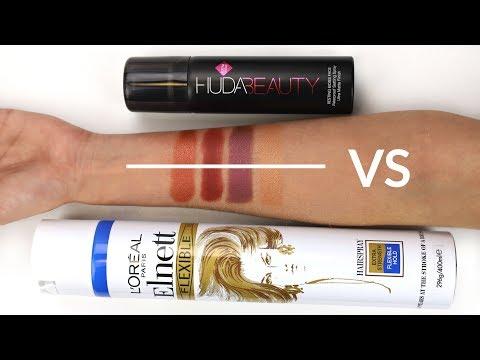 Huda VS Hairspray - Who will prevail?  THE MAKEUP BREAKUP