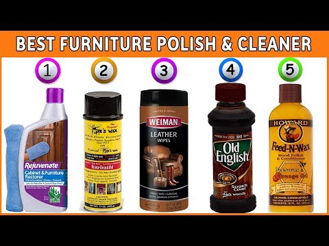 Furniture Polish - Best Furniture Cleaner 2020 (Reviews)