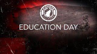 "Coyote Hunting, 3 Coyotes: C.C. Season 3 E5 ""Education Day"""
