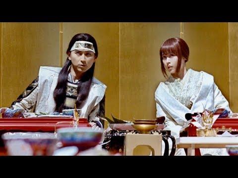 桃太郎&かぐや姫、結婚に大切なのは何袋?/au三太郎CM「友人あいさつ」篇+メイキング