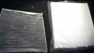 how to replace cabin dust air filter on seat vw skoda audi