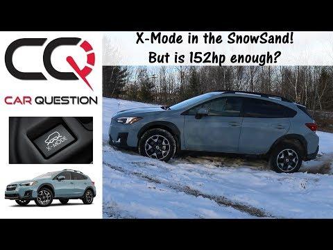 2018-2019 Subaru CROSSTREK | Off-Road in the SNOWSAND | Review Part 6/7