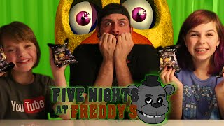 FNAF Surprise Blind Bags | ActOutGames & Jay Squared | Name Challenge | Five Nights At Freddy