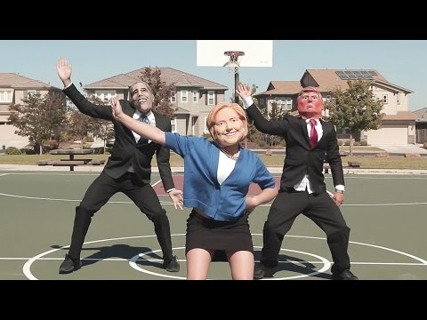 Presidential Debate 2016 Dance Battle - Donald Trump VS. Hillary Clinton VS. Barack Obama