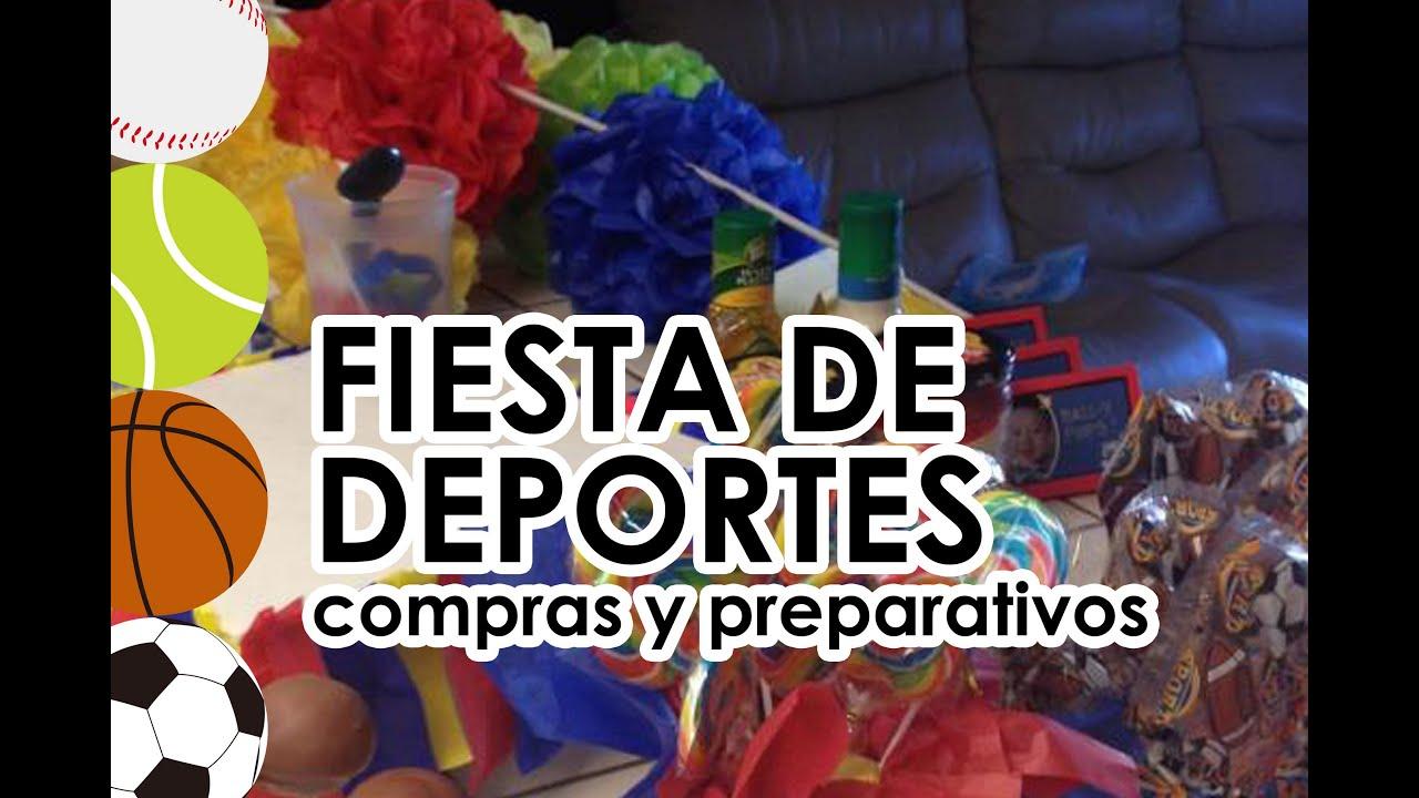 Fiest Infantil De Deportes Pelotas Preparativos Y Compras Para - Preparativos-para-cumpleaos-infantil
