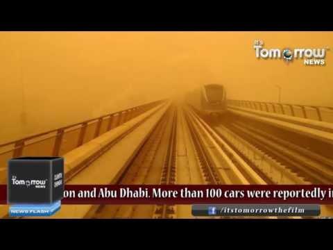 UAE faced major sandstorm