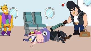 Brawl Stars Animation | BULL deceived everyone | 荒野亂鬥動畫 | 狂牛欺騙了所有人