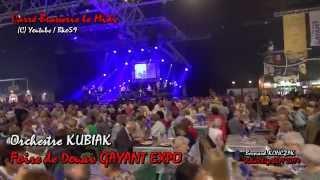 Orchestre KUBIAK à la foire de DOUAI GAYANT EXPO 2014