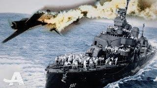 Sinking a Battleship and Dodging Kamikaze Attack in WW2 | Leyte Gulf