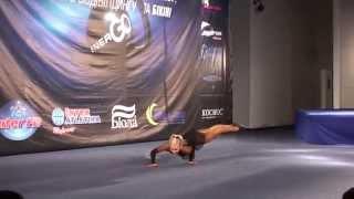 Степина Ольга фитнес 163+ произволка ЧУ 2011 IFBB