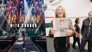 A special gift from Brian May of Queen - Def Leppard Hits Canada
