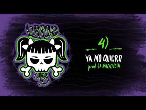 """Cazzu - """"Ya no quiero"""" (audio oficial)"""