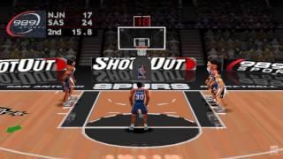 NBA ShootOut 2004 PS1 Gameplay HD