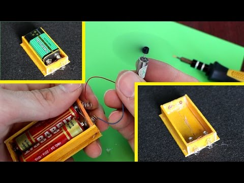 How To Make A Battery Holder Using Popsicle Sticks | Very Simple