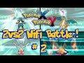 Pokemon X & Y Wifi Battle #2 (No Tiers) 2vs2 Multi Battle [1080p]