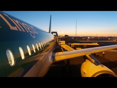 Aer Lingus Airbus A320-214 Dublin to Manchester | Full Flight