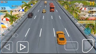 """Night Car Racing 2019 """"Los Angeles City Traffic"""" Android Gameplay FHD #2"""