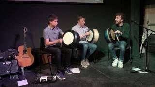 Bodhrán trio, Craiceann Bodhrán Festival 2016