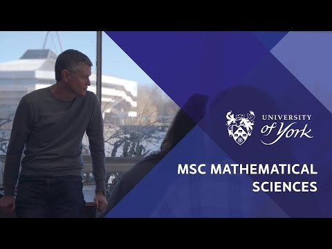 MSc Mathematical Sciences at the University of York