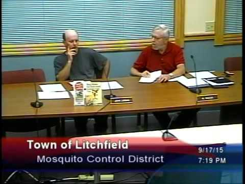 Mosquito Control District Meeting  - Sept 17, 2015