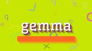 """How to say """"gemma""""! (High Quality Voices)"""