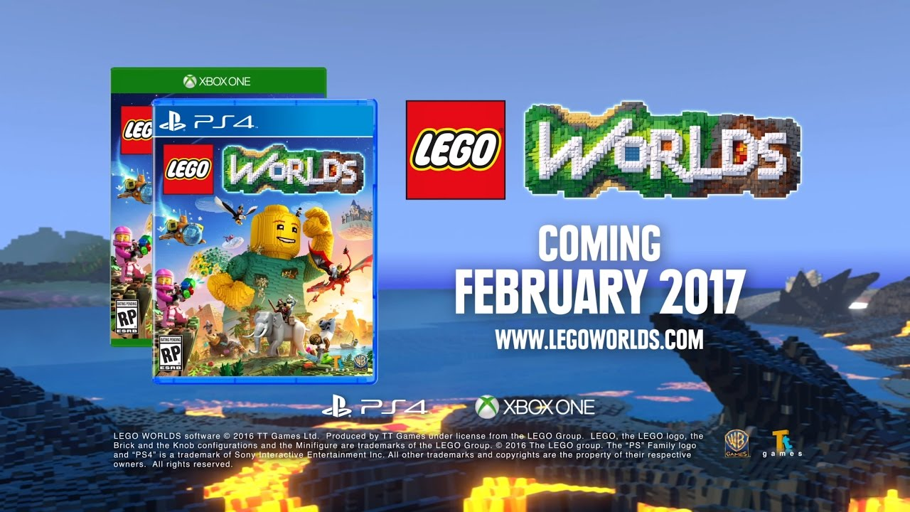 Lego Worlds Coming To Ps4 And Xbox One In 2017 Youtube