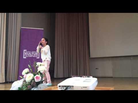 """Deutsch-Türkische Kulturolympiade DD Yasemin Dogan """"Annem"""" Ağlatan Şiir....8 Yas* Ek Gösteri*"""