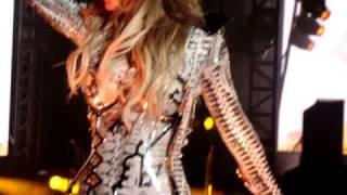 Show Black Eyed Peas São Paulo. Fergie Soltando a Voz!!