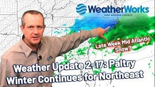 Northeast Rain, Mid-Atlantic Snow? (Northeast US Weather)